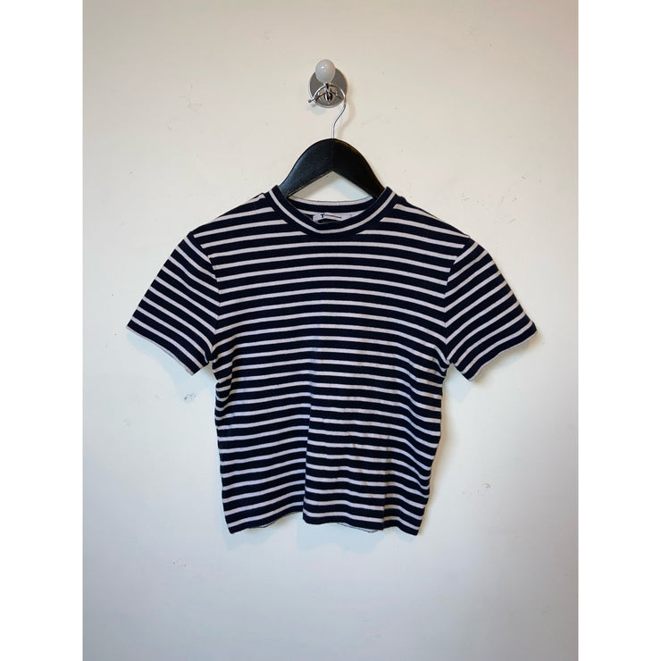 Striped T-shirt by T by Alexander Wang