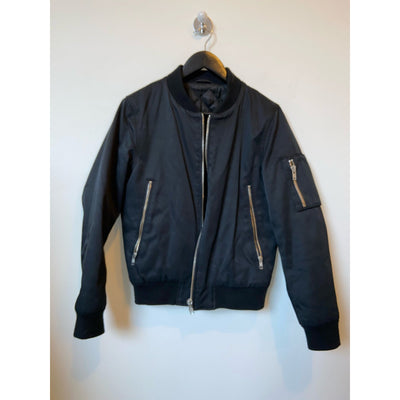 Navy Bomber Jacket by Whyred