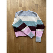Multicolor Striped Knit Sweater by H&M