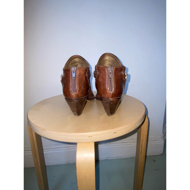 Brown Vintage Boots by Via Spiga