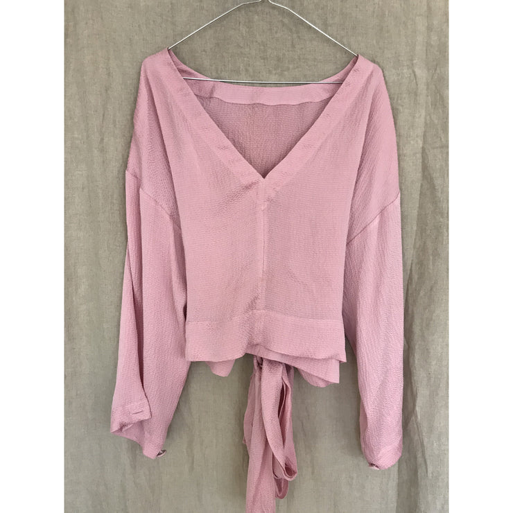 Pink Silk Top by Rodebjer