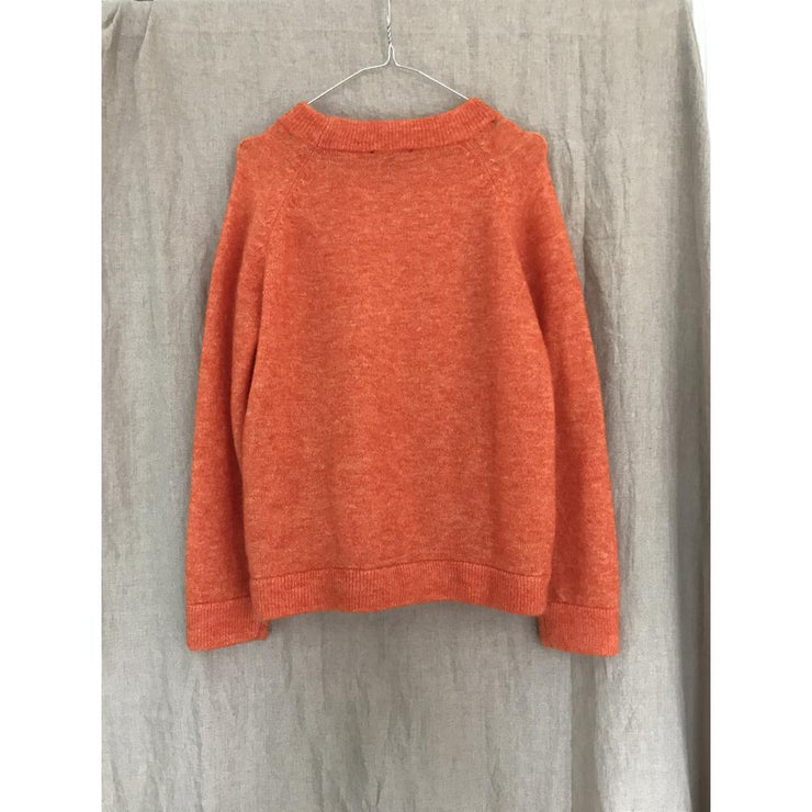 Bright Orange Knit by Selected Femme