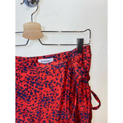 "Red Skirt ""Hazel Scatter"" by Rodebjer"
