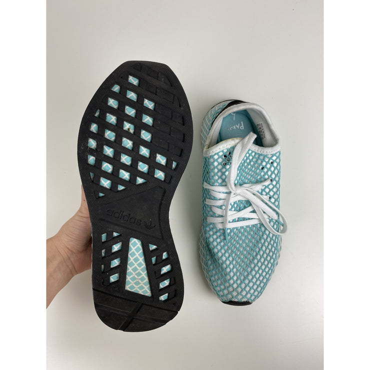 Turquoise Sneakers by Adidas