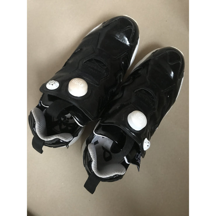 Black Shiny Sneakers by Reebok