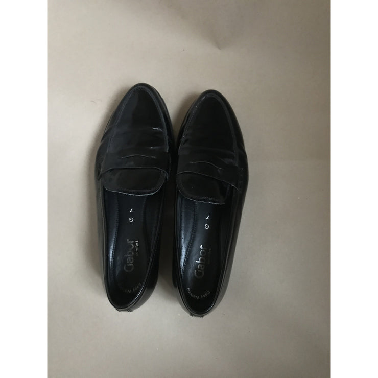 Patent Leather Loafers by Gabor