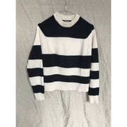 White and Blue Striped Knit by Bruuns Bazaar