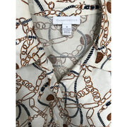 Shirt With Classic Chain Print by Charter Club