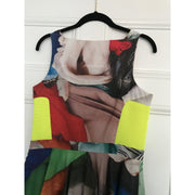 Multi-print Cocktail Dress by Chalayan