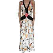 Floral Print Gown by Temperley London