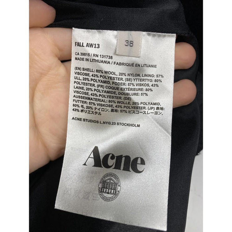 Wool Pencil Skirt by Acne