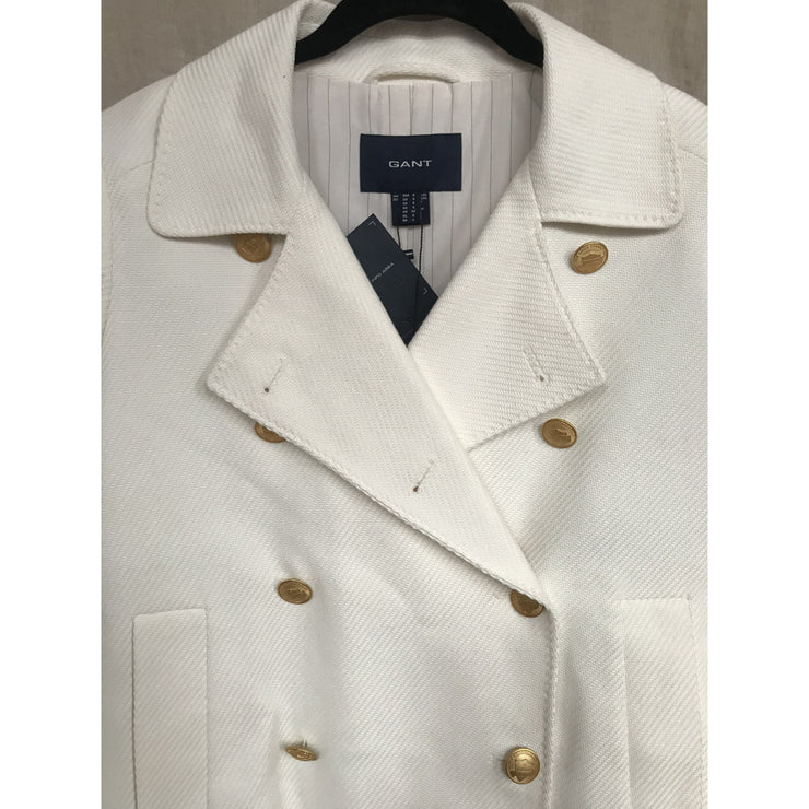 White Spring Coat by Gant (New with tags)