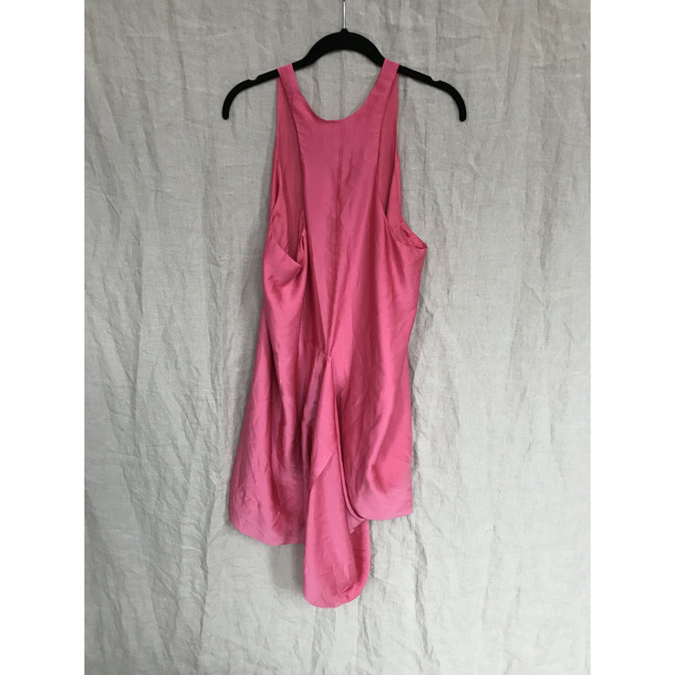 Pink Asymmetric Dress by Acne