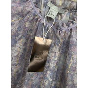 Lavender Glittery Blouse by H&M Limited Edition