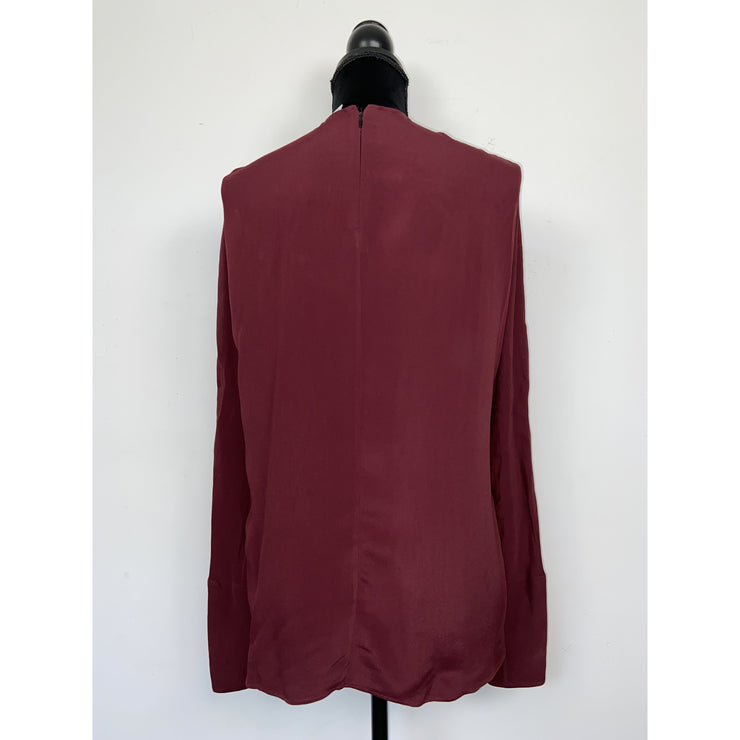 Burgundy Blouse by Arket