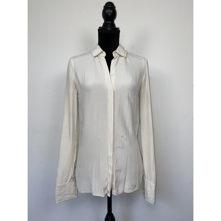 Beige Silk Shirt by Joseph