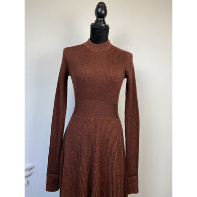 Brown Knit Dress by Arket