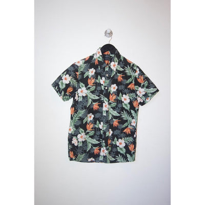 Floral Shortsleeve Shirt by Barneys New York