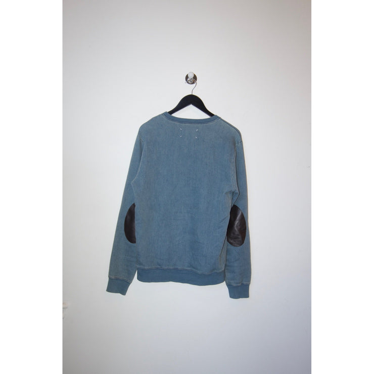 Sweatshirt with Patch Details by Maison Margiela
