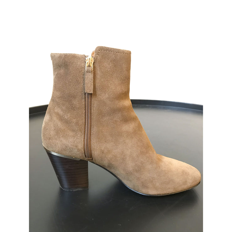 Tan Suede Ankle Boots by Marc Jacobs
