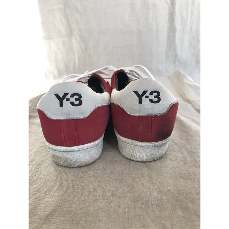 Red Sneakers by Y3