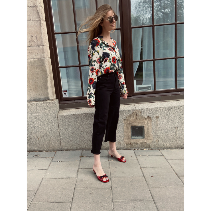 Floral Viscose Blouse by H&M