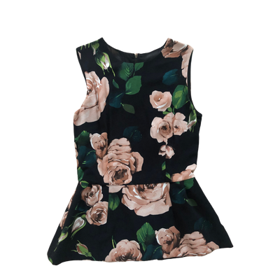 Flowery top by Dolce & Gabbana