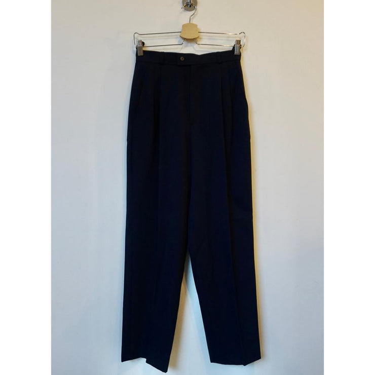 Vintage Navy Wool Pants by Yves Saint Laurent