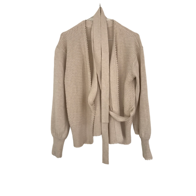 Off White Knit Cardigan by See by Chloé