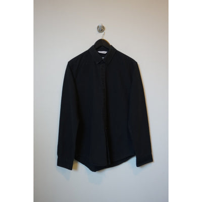 Black Button Down Shirt by Samsoe Samsoe