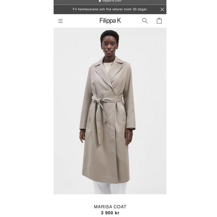 Marissa Coat by Filippa K