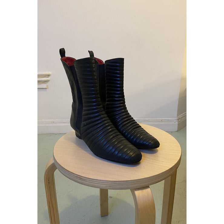 Black Boots by Charles Jourdan