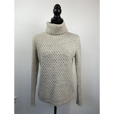 Light Beige Turtleneck Knit by Whyred