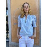 Puff-Sleeve Blouse by G. Label by GOOP