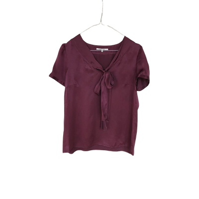 Bow-Tie Top by Gerard Darel