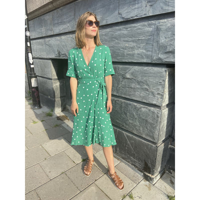 Green Wrap Dress by & Other Stories