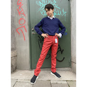 Red Remade Denim by H&M