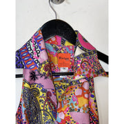 Multi-colored Silk Vintage Dress by Christian Lacroix (38)