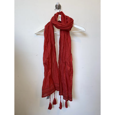 Red Scarf by Comptoir Des Cotonniers
