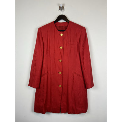 Red Vintage Silk Coat