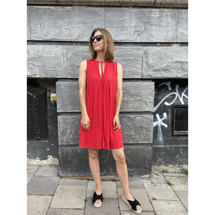 Strawberry Red Dress by Filippa K