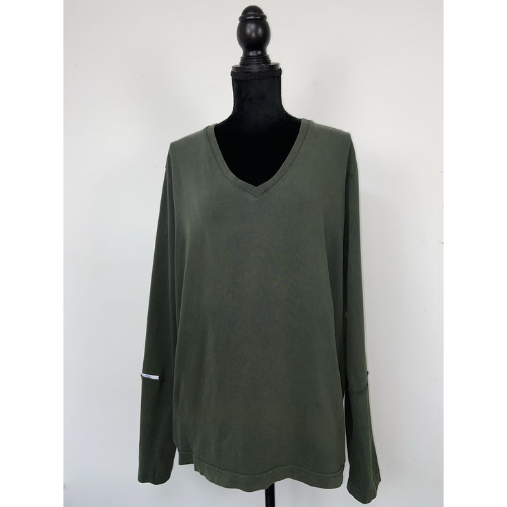 Dark Green Longsleeve T-shirt by Whyred