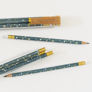 Wildflower Pencil Terrarium, Set Of 5 Pencils