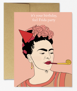 Frida Birthday Card