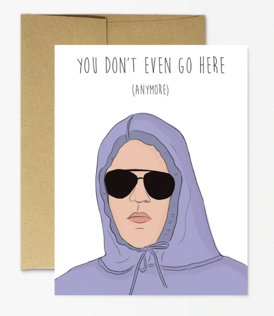 Damian Mean Girls Card