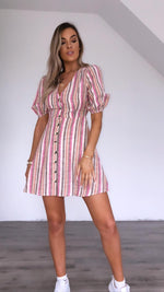 Mattie stripe dress