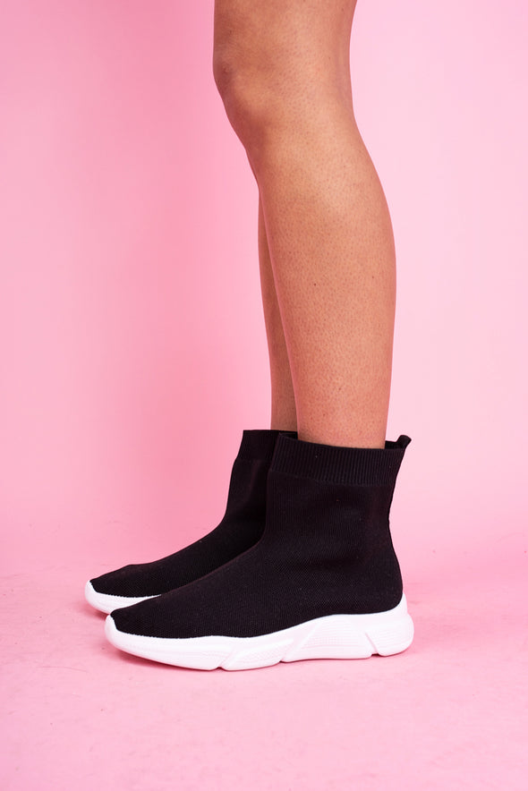 Black Sock Boot