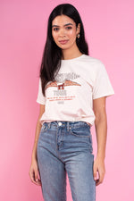 Emilia Boyfriend Tee With Eagle Graphic