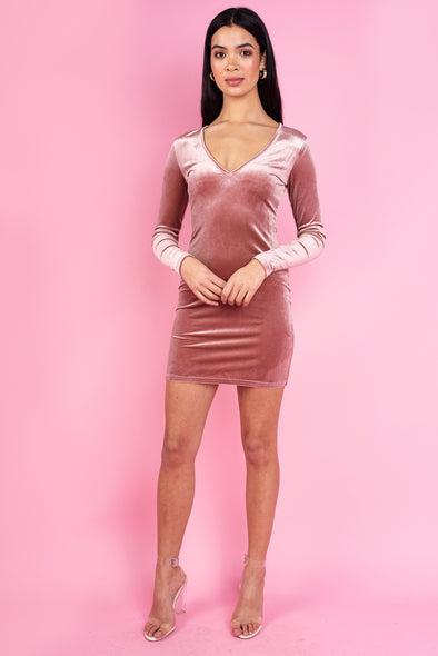 Eva Bodycon Dress - Pink