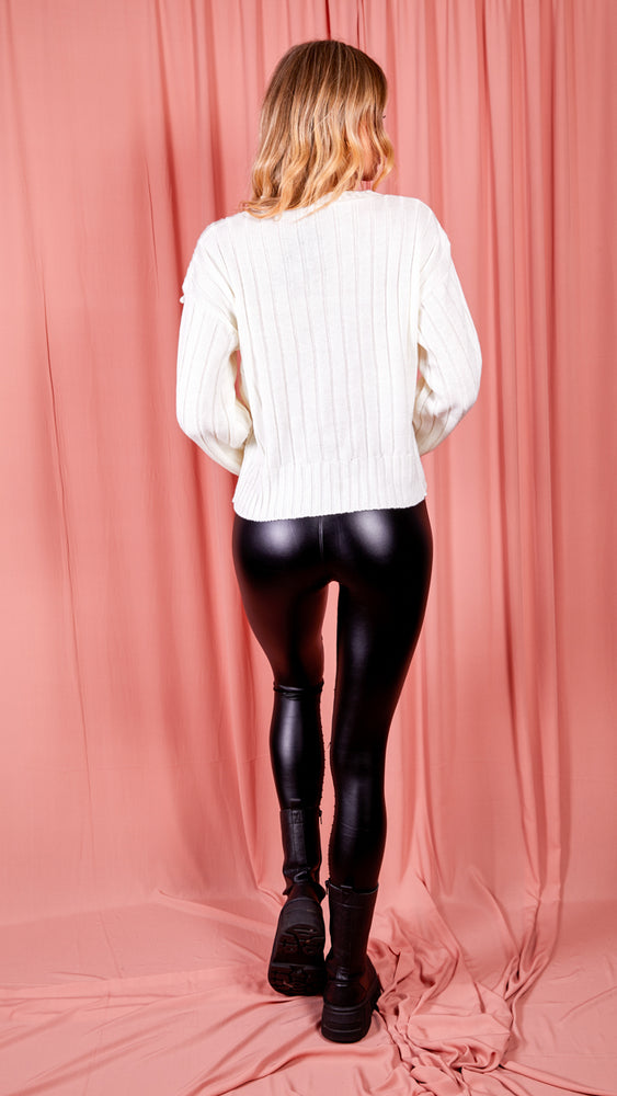 Alexa Faux Leather Leggings